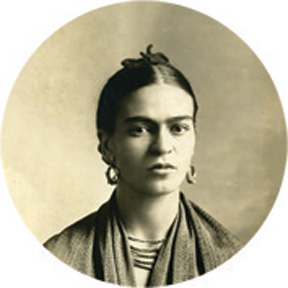 Frida Kahlo Button