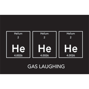 Gas Laughing 2x3 Magnet