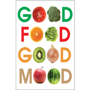 Good Food Good Mood Magnet