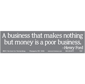 Henry Ford Bumper Sticker