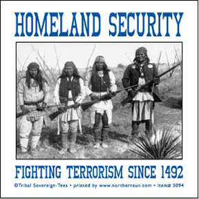 Homeland Security Sticker