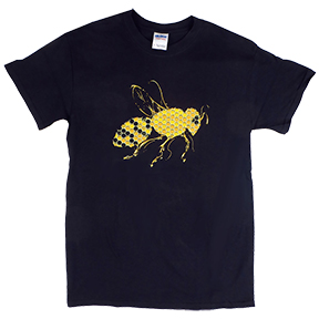Honey Bee Womens TShirt