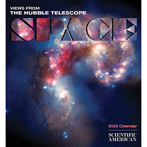 Hubble Space Telescope Calendar