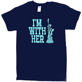 I'm With Her Statue Of Liberty TShirt
