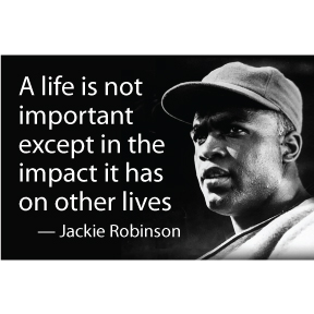 Jackie Robinson Magnet
