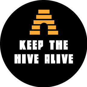 Keep The Hive Alive Button