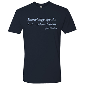 Knowledge Jimi Hendrix T-Shirt