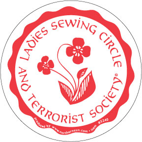 Ladies Sewing Circle Sticker