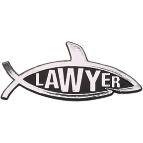Lawyer Car Emblem
