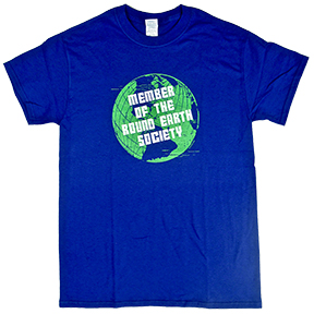 Member Round Earth Society TShirt