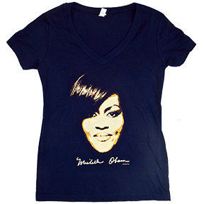 Michelle Obama Womens V-Neck TShirt
