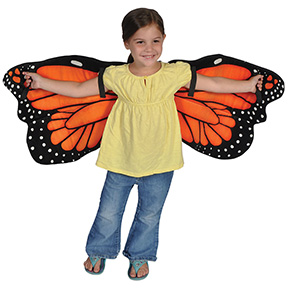 Monarch Butterfly Wings Set