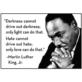 Only Love Martin Luther King Jr Magnet