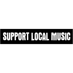 Support Local Music Sticker