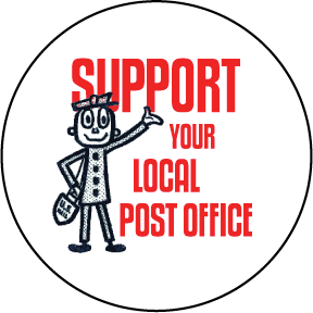 Support Local Post Office Button