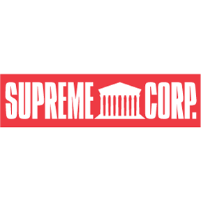 Supreme Corp Bumper Sticker