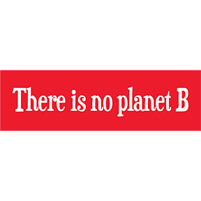There Is No Planet B Sticker