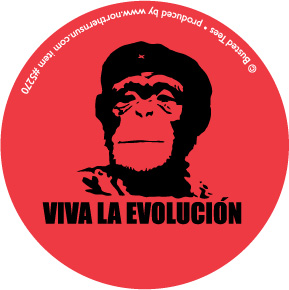 Viva La Evolucion Sticker