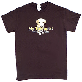 Wet Nose Dog T-Shirt