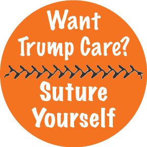 Suture Yourself Button