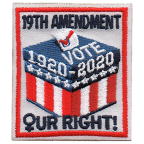 19th Amendment Patch