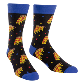 Pizza Party Socks