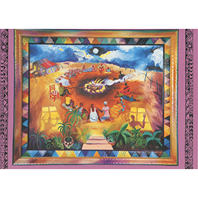 Meditation Freedom Jane Evershed 4 Note Card Set