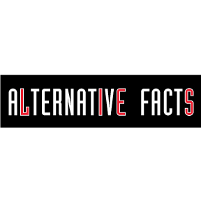 Alternative Facts Lies Bumper Sticker