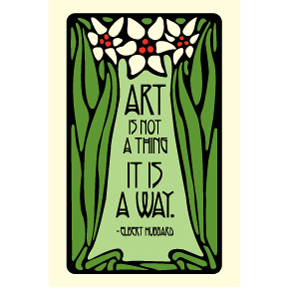 Art-Is-Not-A-Thing-2x3-Magnet