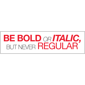 Be-Bold-Bumper-Sticker