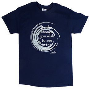 Be The Change Gandhi TShirt
