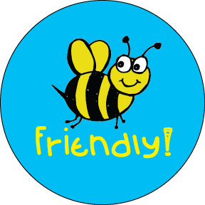 Bee-Friendly-Button