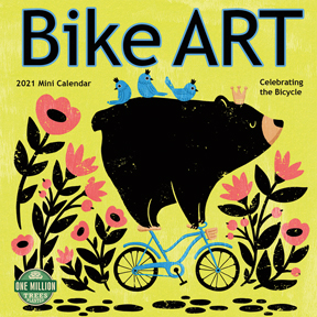 Bike-Art-Mini-Calendar