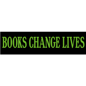 Books Change Lives Bumper Sticker