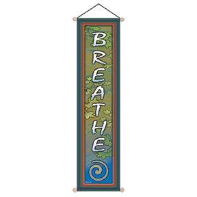 Breathe Affirmation Banner