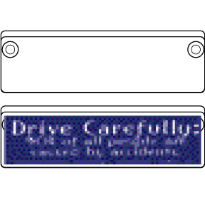 Bumper-Sticker-Holder