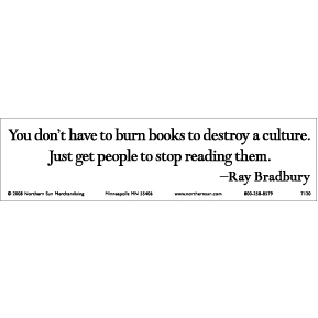 Burn-Books-Ray-Bradbury-Bumper-Sticker
