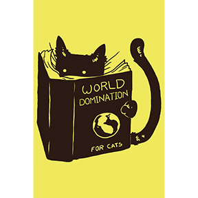 Cat-World-Domination-Magnet