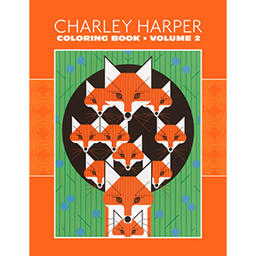 Charley-Harper-Coloring-Book