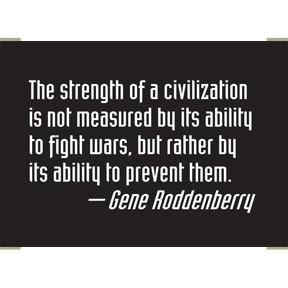 Civilization Roddenberry 2x3 Magnet