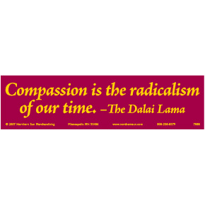 Compassion-Dalai-Lama-Bumper-Sticker