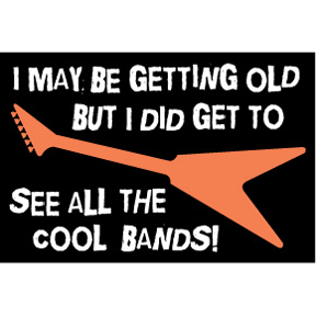 Cool Bands 2x3 Magnet