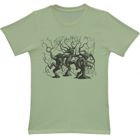 Dancing Trees Organic Avocado TShirt