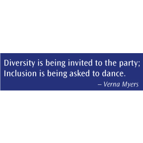 Diversity Inclusion Bumper Sticker