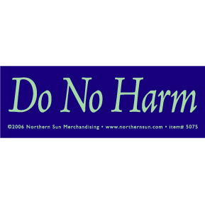 Do-No-Harm-Sticker