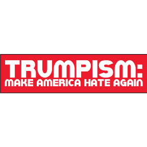 Donald Trump Trumpism Bumper Sticker
