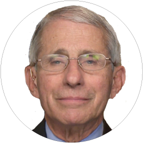 Dr Anthony Fauci Button