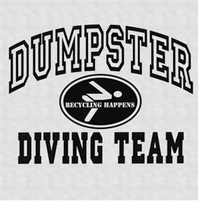 Dumpster-Diving-Long-Sleeve-T-Shirt
