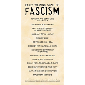 Early Signs Of Fascism Poster