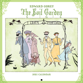 Edward Gorey Cats and Kids Mini Calendar